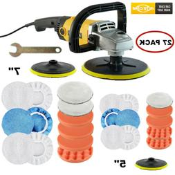 1200W Car Polisher Buffer Sander Electric Variable 6 Speed P