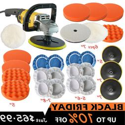 1200W Electric Car Polisher Buffer Sander Variable 6 Speed P
