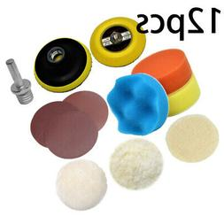 Power Tools Polishing Pad Equipment Buffers Sandpaper Drilli