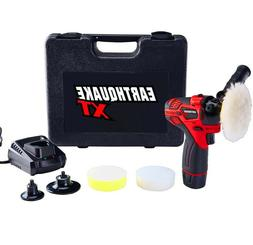 12V Max Cordless Car Boat Auto Buffer Polisher Sander Kit Wa