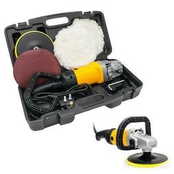 """1600W 7"""" Electric 6 Variable Speed Car Polisher Buffer Waxer"""