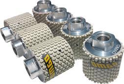 "2"" Dry Diamond Polishing Drum Wheels Set of 7 for Granite/Co"