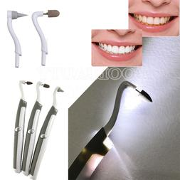 3 Heads Kit Teeth Cleaning Polishing Brush Stain Remover Whi