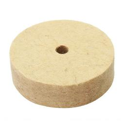 3 Inch Round Shank Wool Polishing Wheel Felt Wool Buffing Po