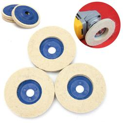 3pcs 100mm 4 Inch Wool Buffing Angle Grinder Wheel Felt Poli