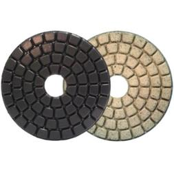 "4"" Alpha Ceramica Buff Polishing Pad **WHITE**"