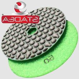 "4"" DIAMOND POLISHING PAD DRY Grit 50 for Variable Speed Grin"