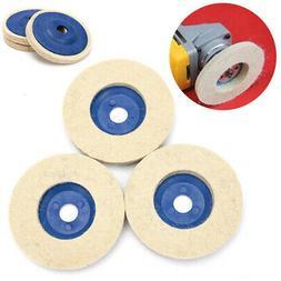 4 inch 100mm Artificial Wool Wheel Polishing Aluminum Metal