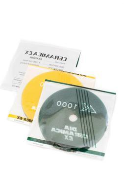 4 Inch Alpha Ceramica EX Diamond Polishing Pads