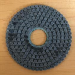 4 Inch Alpha Dia Ceramica Diamond Polishing Pads -60V