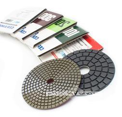 4 Inch Alpha Dia Ceramica Diamond Polishing Pads