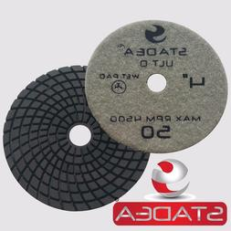 Stadea 4 Inch Granite Polishing Pads for Granite Quartz Ston