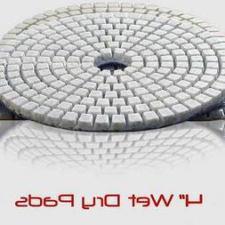 4 Inch Wet Dry Diamond Polishing Sanding Pads Discs Concrete