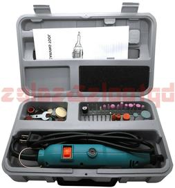 46pc ELECTRIC ROTARY TOOL DIE GRINDER CARVING CUTTER POLISHE