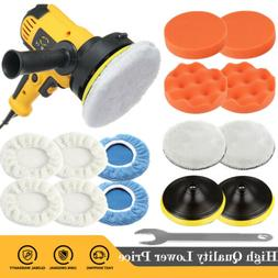 "5"" 600W Car Polisher Buffer Polishing Machine Kit Waxing Too"