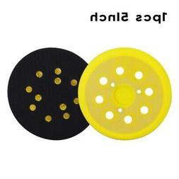 """5"""" Hook & Loop Backer Pad Polishing Sander Disc +10x Sandpap"""