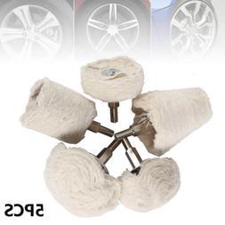 5pcs kit polishing mop buffing wheel pad