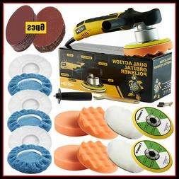 "6"" 680W Dual Action Car Polisher Electric Buffer Sander Waxe"