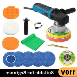 "6"" 680W Car Polisher Kit Electric Buffer Sander Wax Machine"