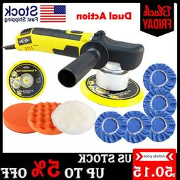 "6"" Dual Action Car Polisher Buffer Sander 6 Speed Polishing"