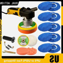 "6"" Dual Action Random Orbital Car Polisher Buffer Sander Wax"