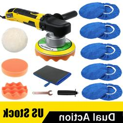 "6"" Dual Action Random Orbital Car Polisher DA Buffer Sander"