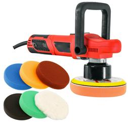 "6"" Variable Speed Eccentric Orbit Dual-Action Polisher Set w"
