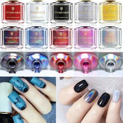 6ml BORN PRETTY Nail Art Stamping Polish Holographic Thermal
