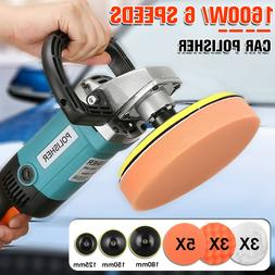 7'' 1600W Variable Speed Polishing Machine Car Polisher Buff