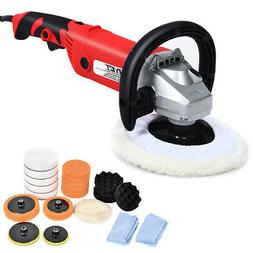"7"" Car Polisher 6 Variable Speed Buffer Waxer Sander Detail"