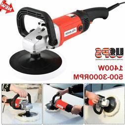 "7"" Electric 6 Variable Speed Car Polisher Polishing Machine"