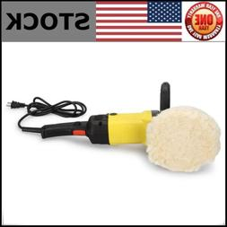 "7"" Electric Polisher Variable Speed Car Polisher Buffer Waxe"