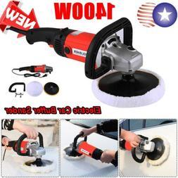 "7"" Electric Polishing Machine Car Polisher Electric Tool Buf"
