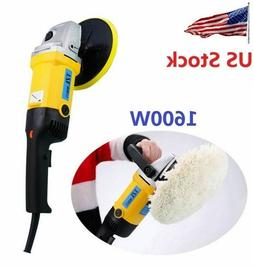 "7"" Electric Polishing Machine Car Polisher Electric Tool Buf"