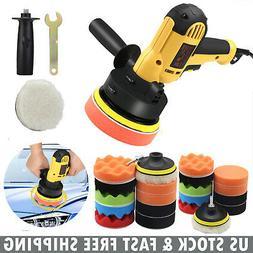 """700W 5"""" Car Polisher Buffer Polishing Machine 3"""" 4"""" Waxing T"""