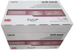 3M 7447 Scotch-Brite Maroon General Purpose Hand Pad 3 boxes