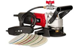 ZFE 800W/110V Variable Speed 4'' Wet Polisher/Grinder & Gran