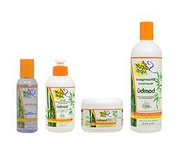 Silicon Mix Bambu Shampoo 16oz & Treatment & Leave-in 8oz &