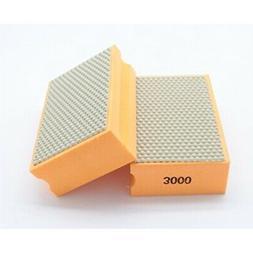 alpha diamond hand polishing pad -  3000 grit pad