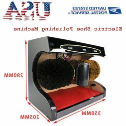 Automatic Electric Shoe Polishing Machine Buff 1500r / s Pol