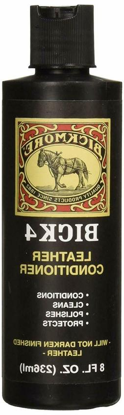 Bickmore Bick 4 Leather Conditioner 8 oz - Best Since 1882 -