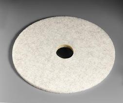 "3M Natural Blend White Pad 3300, 17"""
