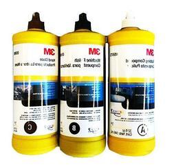 3M BUFFING & POLISHING Compound Hand Glaze Package 5973 5996