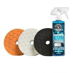 "Chemical Guys BUFX702 5.5"" Hex-Logic Quantum Buffing Pad Sam"