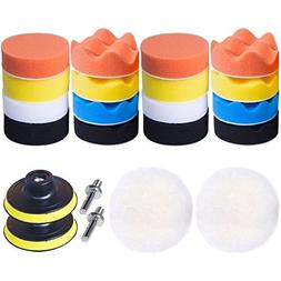 car foam drill polishing pad