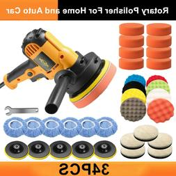 Car Polisher Buffer Sander 600W Auto Polishing Machine & 32P