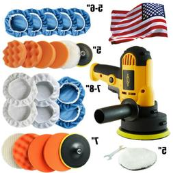 Car Polisher Buffer Kit Sander Wax Machine Variable Speed w/