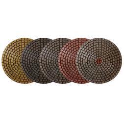"4"" Alpha Ceramica EX Diamond Polishing Pad - Set of 5 pcs"