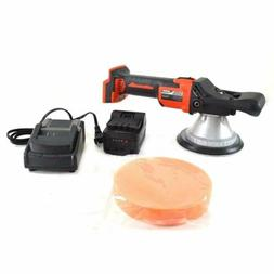 Cordless Battery Operated Powered Random Orbit Polisher Buff