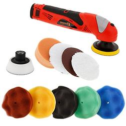 "Custom Shop Professional 3"" Cordless Mini Rotary Polisher Ki"